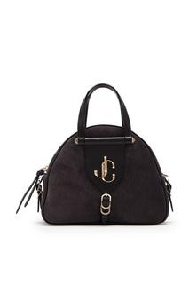 Черная кожаная сумка Varenne Jimmy Choo