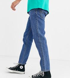 Выбеленные суженные книзу джинсы COLLUSION - Синий