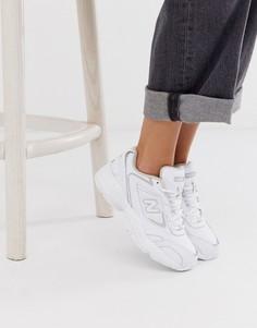 Белые кроссовки New Balance 452