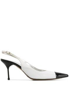 Dolce & Gabbana Pre-Owned туфли 2000-х годов с ремешком на пятке