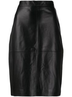 Federica Tosi облегающая юбка с завышенной талией