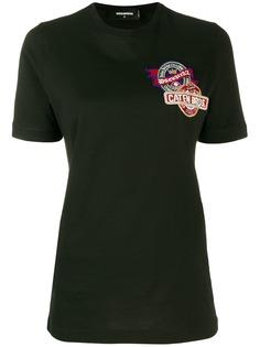 Dsquared2 футболка с нашивкой на груди