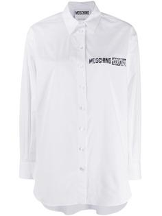 Moschino рубашка с логотипом