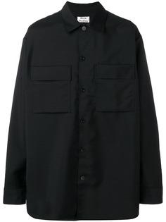 Acne Studios рубашка в стиле милитари Houston