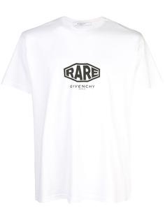 Givenchy футболка с принтом Rare
