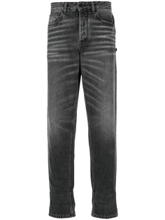 Marcelo Burlon County Of Milan зауженные джинсы с эффектом потертости