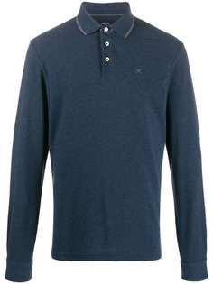 Hackett рубашка-поло с длинными рукавами