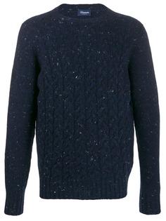 Drumohr свитер фактурной вязки