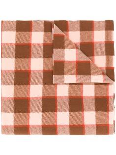 Acne Studios клетчатый шарф Cassiar