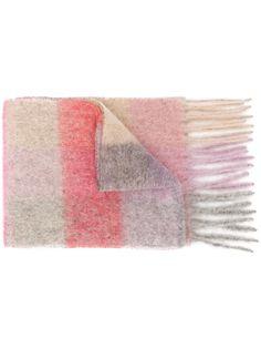 Acne Studios шарф с контрастными полосками
