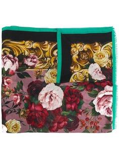 Dolce & Gabbana платок с принтом Baroque Rose