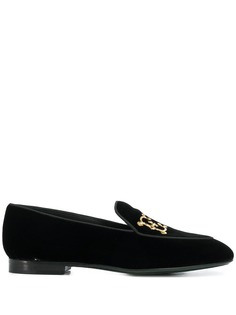 Etro logo embellished loafers