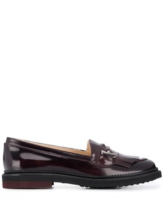 Tods patent slip-on loafers Tod`S