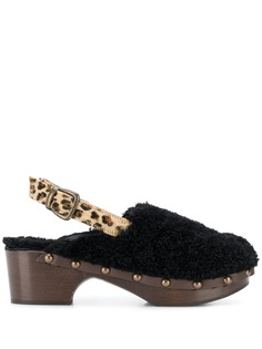 Avec Modération туфли-лодочки с леопардовым принтом