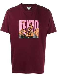 Kenzo футболка с логотипом Tiger Mountain