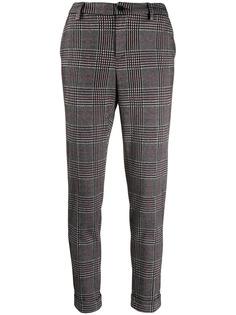 Liu Jo check print trousers