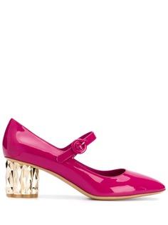 Salvatore Ferragamo туфли-лодочки на каблуке