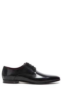 Черные кожаные туфли Positano Dolce & Gabbana