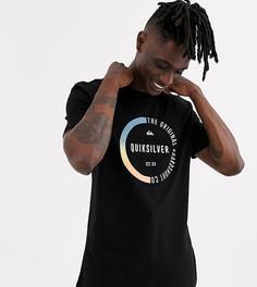 Черная футболка с короткими рукавами Quiksilver - Черный