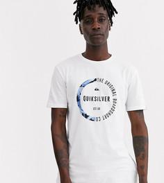 Белая футболка с короткими рукавами Quiksilver - Белый