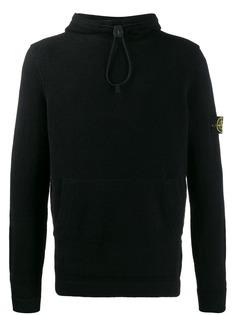 Stone Island drawstring hood jumper