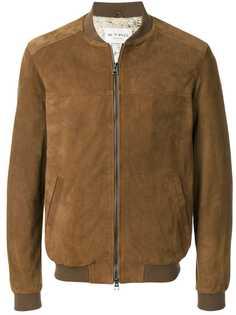 Etro классическая куртка-бомбер