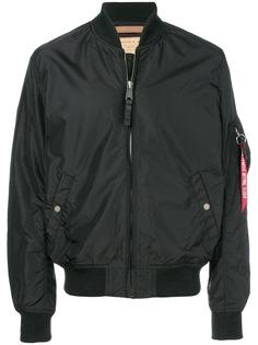 Alpha Industries куртка-бомбер на молнии