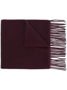 Acne Studios шарф с вышивкой