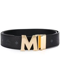 MCM ремень с логотипом