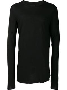 Thom Krom футболка с длинными рукавами и круглым вырезом