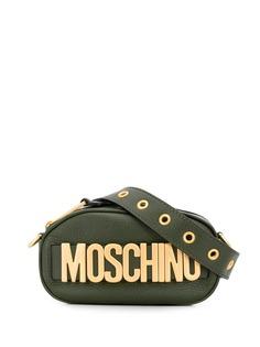 Moschino объемная поясная сумка с логотипом