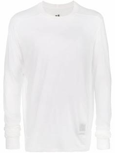 Rick Owens DRKSHDW sheer sweatshirt