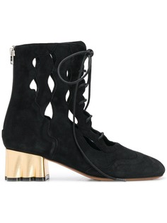 Marni teatro wedge boots