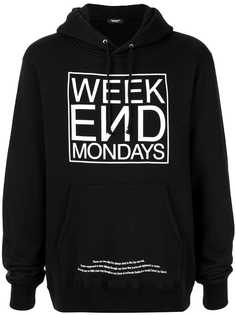 UNDERCOVER Week End Mondays hoodie