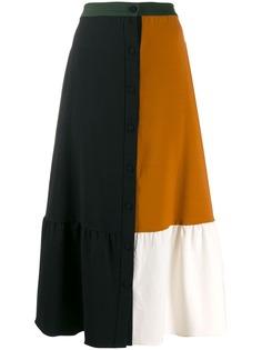 Chinti & Parker длинная юбка в стиле колор-блок