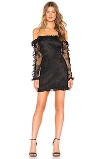 Мини-платье с открытыми плечами leo - Lovers + Friends