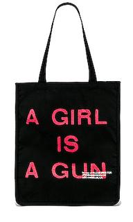 Сумка тоут a girl is a gun - Pleasures