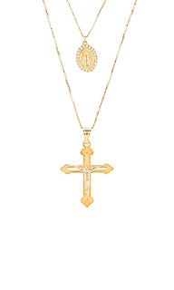 Комплект crucifix medal - The M Jewelers NY