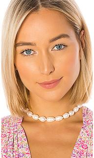 Ожерелье с перламутром baroque - Lele Sadoughi