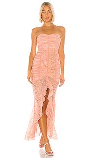 Вечернее платье без бретелек chun li - NBD