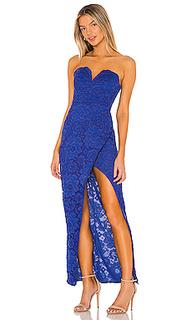 Вечернее платье без бретелек cam - NBD