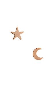 Набор запонок moon & star - Natalie B Jewelry