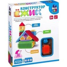 Конструктор Bondibon Ёжик, дом, 58 деталей (ВВ2575 )