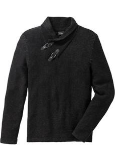 Пуловер с шалевым воротом Bonprix