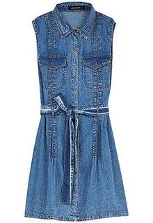 Джинсовое платье La Reine Blanche