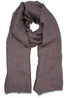 Однотонный шарф Fabretti