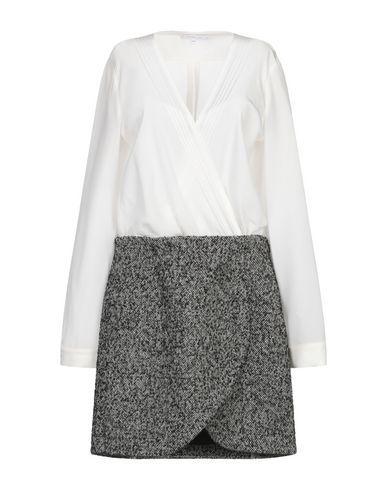 Белое мини платье
