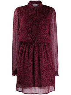 Liu Jo платье-рубашка с леопардовым принтом