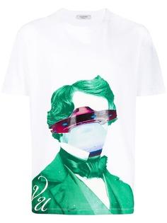 Valentino футболка с принтом UFO из коллаборации с Undercover