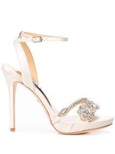 Badgley Mischka туфли-лодочки с кристаллами